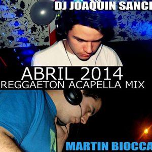 Reggaetón Acapella Mix 2014 - DJ JOAQUIN SANCHEZ FT. MARTIN BIOCCA DJ