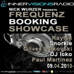 Frequenz Booking Showcase Guest Oliver Petkovski on InnerVisionsRadio [09-apr-13]