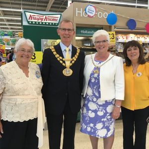 Breakfast with Debbie Noblett 18 Jul 2019 (guest Jean Bolton, Tesco Community Champion)