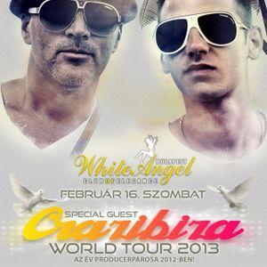 Crazibiza & Dj Free & Imhouse - Live @ White Angel Budapest Crazibiza World Tour 2013.02.16.
