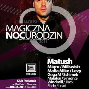 Matush live MNU @ Piekarnia club 08.04.2011 / Warsaw / Poland