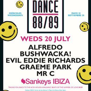 This Is Graeme Park: Dance 88/89 @ Sankeys Ibiza 20JUL16 Live DJ Set