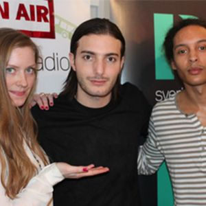 Alesso och managers i Hollywood