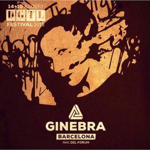 Dj Set Ginebra at DGTL Barcelona 2015