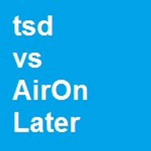 tsd vs AirOn Later - Live in Bowling Green (Spring 2000)
