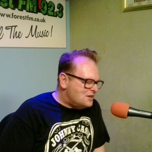 DJ Steve Stack Of Wax ~  ROCKIN' RADIO with guest Bluecats' Clint Bradley ~ 10 September 14