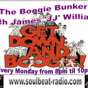JJ's Boogie Bunker on Soulbeat Mix Show, Monday 28th March 2016 8-10pm(UK)
