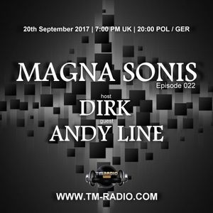 Andy Line - Guest Mix - MAGNA SONIS 022 (20th September 2017) on TM-Radio