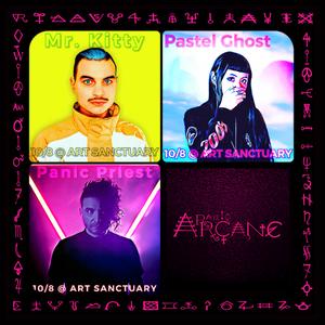 Radio Arcane : 11 : Mr. Kitty, PASTEL GHOST, Panic Priest