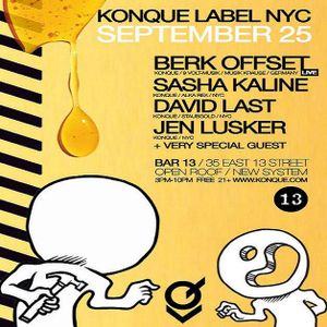 Berk Offset (Live PA) @ Bar13 - Manhattan New York City - 25.09.2011