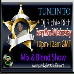 DJ Richie Rich Yawd Vybz 876 Radio Show 03/10/17