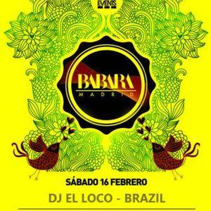 Bábara Madrid [Brazilian´s floor] @ Special Mix TRIBAL @ Dj El Loco