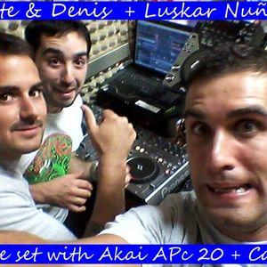 Set Live With Akai APC 20 + Cdj´s 400 _ con Luiskar Nuñez