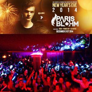 NYE 2014 opening set for Paris Blohm, Foundation, Seattle, Dec 31, 2014