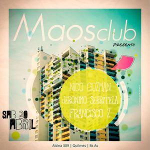 Live at Maos Club 20.04.13