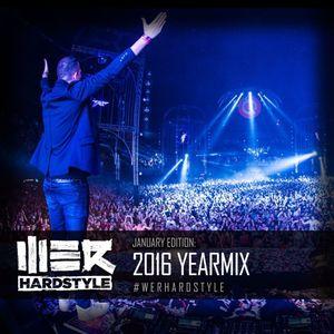 Brennan Heart presents WE R Hardstyle January 2017 (2016 Yearmix)