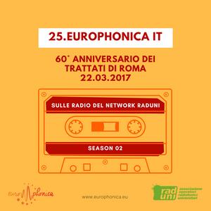 60° ANNIVERSARIO DEI TRATTATI DI ROMA 22.03.2017