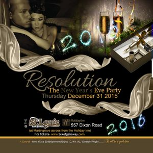 """RESOLUTION """"The NYE Party"""" Mini Mix Vol 1"""