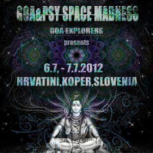 live set @ Goa space madness