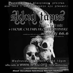 ᐫ ڳkkul tapes : wi̵̼┼ch cvl┼ mi̵̼x ᐫw dj ᐫ∆N̲̱̮͕͇͖͕̫͡drvj 66.ᐫ+ SPITPHYRE JULY 6TH WFKU radio