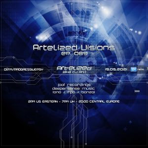 Artelized Visions 089 (May 2021) with CJ Art ][ Artelized 2 Hours Mix on DI.FM