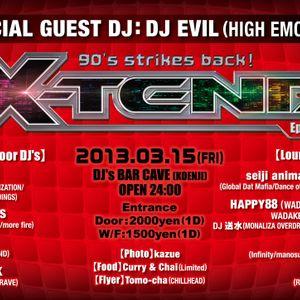 X-TEND 90's Mix @ Koenji Cave March 15th 2013