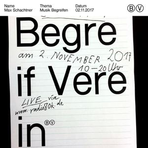 Begreif Verein: Max Schachtner – 02.11.2017