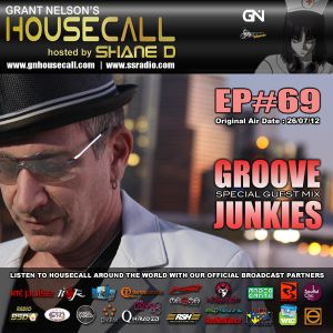 Housecall EP#69 (incl. a guest mix from Groove Junkies)