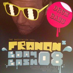 franqns b-day bash08 @ BassStation (HD) 09.05.2008 / DJ E.DECAY / MC SINISTA / MC DRAGOON