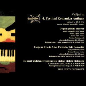 4. Festival Romanica Antiqua