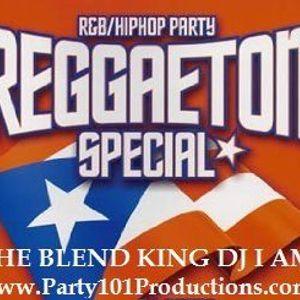 THE BLEND KING DJ I AM PRESENTS: DIAMONDS! THE REGGAETON, HIP-HOP, & R&B MIX TAPE!
