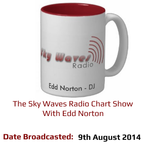 The Sky Waves Radio Chart Show - 9th August 2014