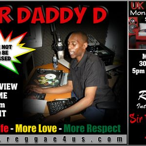 Got home late from work miseed the interview uk rondon interviewing daddy d here is the re-run enjoy