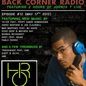 BACK CORNER RADIO: Episode #12 (May 17th 2012)