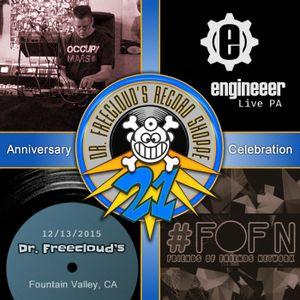 Dr. Freecloud's 21st Anniversary Live PA Dec. 13, 2015