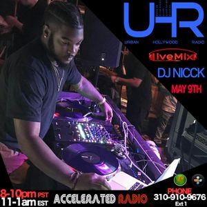 UHR w/ Dj Nicck: Special Guests Lil U & Owner of Girl Cave LA Lia Dias 5-9-17