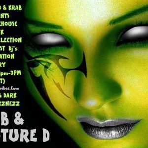 Krab & Phuture Dee Live Every Sunday 12pm - 3pm (gmt) www.atomicvibes.com