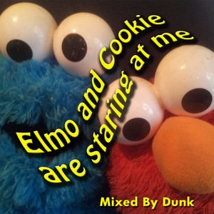 Elmo and Cookie are Staring at me