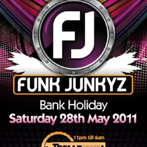 Funk Junky's Mini Mix by Grade A@ the Wheel Birmingham 28th may