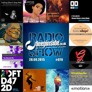 DEEPINSIDE RADIO SHOW 079 (Kenny Bobien Artist of the week)