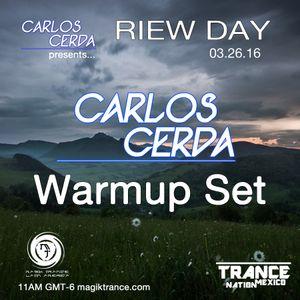 Carlos Cerda Warmup set @ RIEW Day (03.26.16)