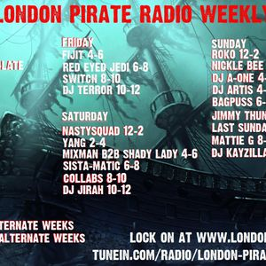 Mattie G - London Pirate Radio - Sunday Night House Session