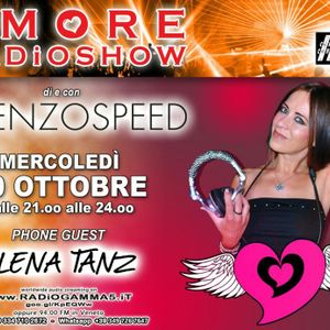 LORENZOSPEED* presents AMORE Radio Show 776 Mercoledi 30 Ottobre 2019 with ELENA TANZ