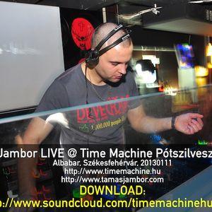 Jambor LIVE @Time Machine 20130111