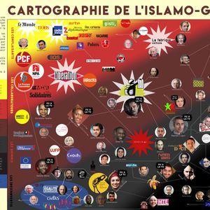 Cartographie de l'Islamo-Gauchisme
