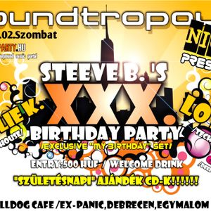STEEVE B.-My XXX. Birthday (classic mix 1998- 2008) part 2.