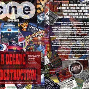 DJ Smurf @ A Decade Of Destruction - 26/7/2003 - part 9 of 9