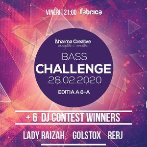 DharmaCreative DJ Contest Bass Challenge 8 - Ahari B2B Eddie Alexander
