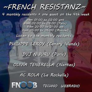 Planet X presents French Resistanz - Fnoob Techno Radio UK (2013-09-15)