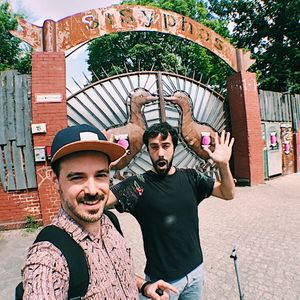 Los Cabra (Christ Burstein & Manuel Sahagun) - Live @Sisyphos Berlin (Dampfer) 26.05.2018